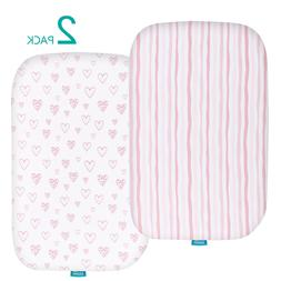 Baby Bassinet Fitted Sheets for MiClassic 100% Jersey Knit C
