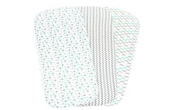 Baby Bassinet Sheet Set For Boy And Girl, 3 Pack, Universal