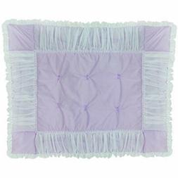 Baby Bedding Sets Doll Sweet Touch Crib Comforter, Lavender