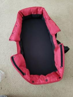 Bassinet Kit For Baby Jogger City Select Stroller red color