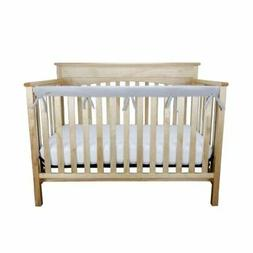 NEW Crib Wrap Fleece Rail Cover for Long Rail Soft Protect B