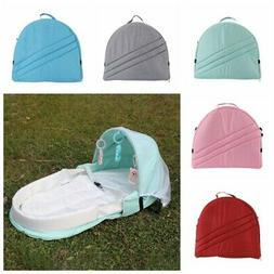 4 in 1 Super Soft Baby Nest Portable Bassinet Foldable Crib