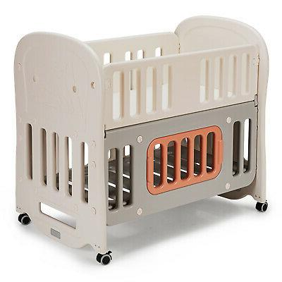 6 in 1 baby bed crib w