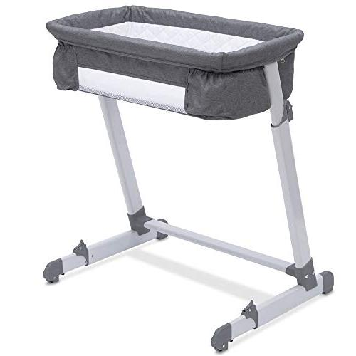 Simmons Kids by The Bed City Bassinet, Grey