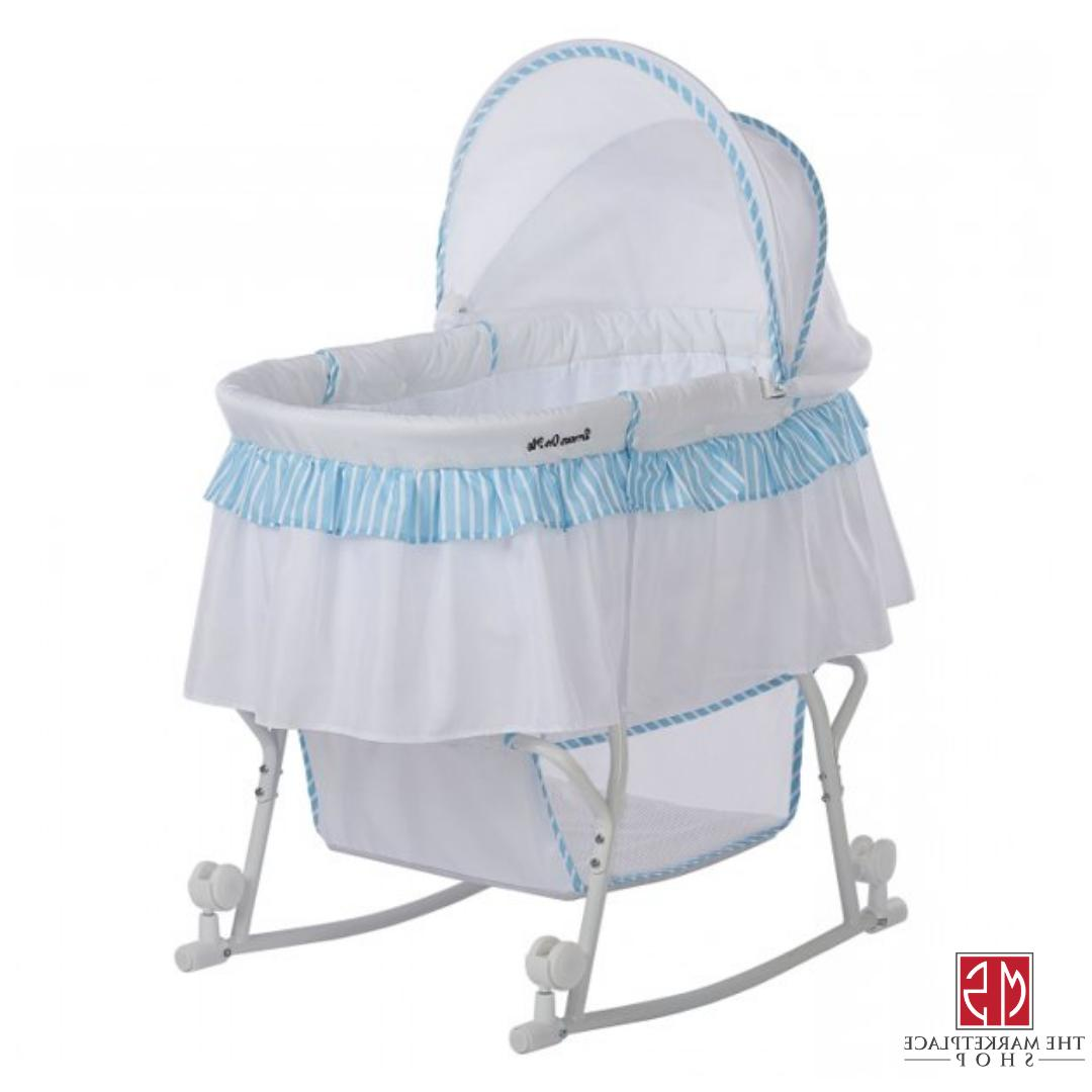 baby bassinet and cradle portable infant crib