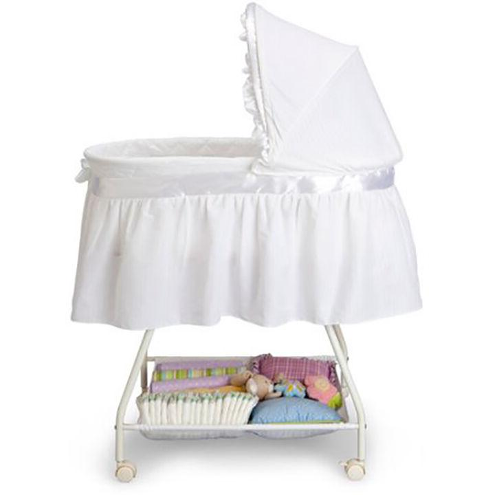 Baby Portable Cradle Basket Travel Newborn Bed