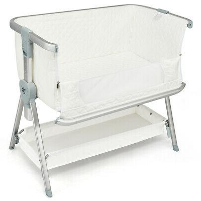 Baby Bed Portable Bassinet White