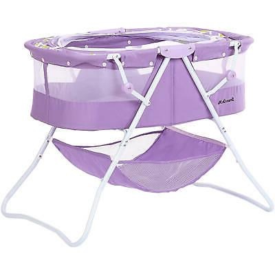 Baby Bassinet Crib Foldable Storage Baby Colors