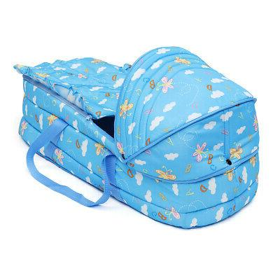 Baby Moses Safe Newborn Bed Carrier Cradle With Cute