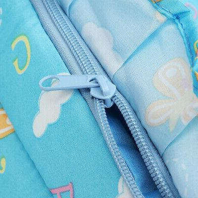 Baby Moses Basket Safe Newborn Travel Bed Bassinet Carrier With Cute