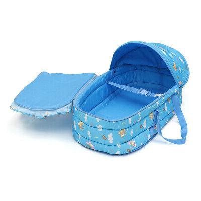 Baby Moses Basket Newborn Travel Bed Carrier Cute