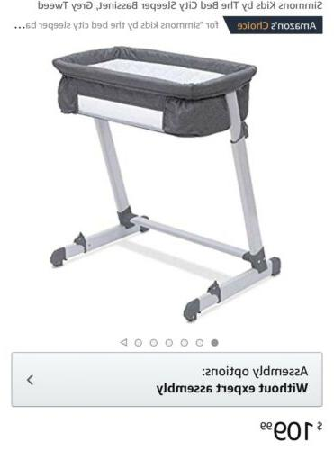 Simmons Kids Bed Grey