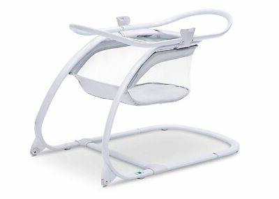Delta Deluxe Moses Bedside Portable Crib,