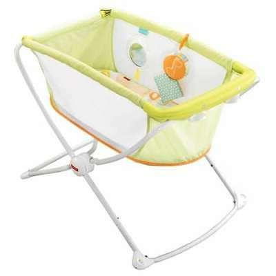 fisher price deluxe rock n play portable