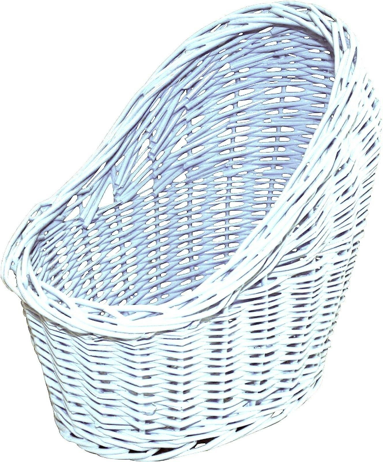 Organic Woven Wicker Bassinet Baby Gifts Rattan Home