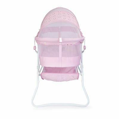 Perfect Baby Bassinet Lightweight for travel Bedside Indoors Outdoors
