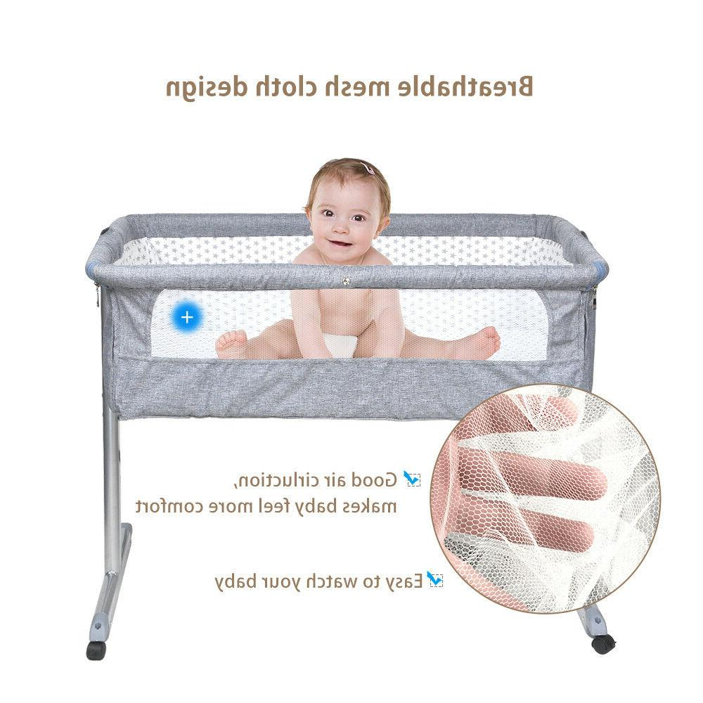 portable baby bed side sleeper infant travel