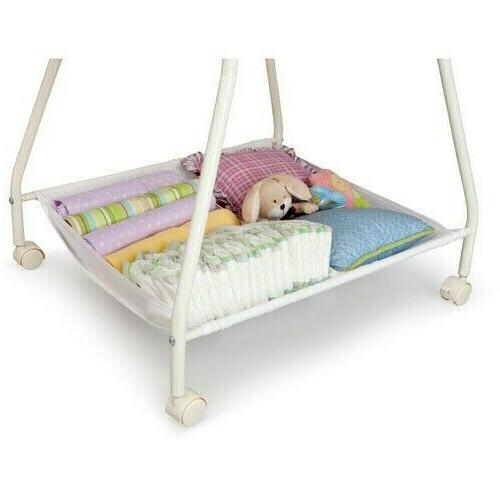 Portable Baby Infant Classic Cradle White!!