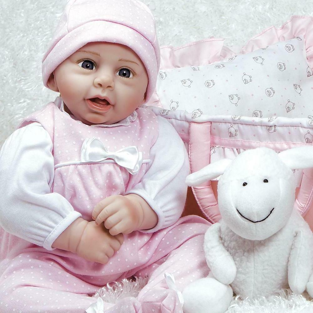 Rachael & Ramsey Paradise Galleries Newborn Baby Doll Realis