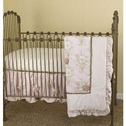 Cotton Tale Designs Lollipops and Roses 3 Piece Crib Bedding
