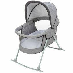 Safety 1st Nap and Go Rocking Bassinet Gray