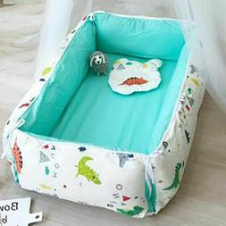 Portable Bassinet and Pillows for Baby Bed Travel Bed for Ba