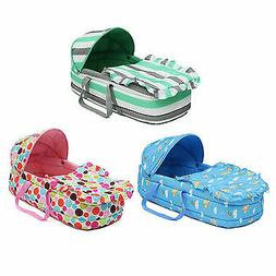 Portable Newborn Baby Infant Moses Basket Bed Baby Cradle Ba