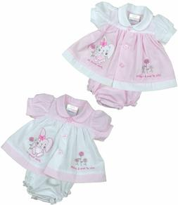 BabyPrem PREEMIE MICRO Baby Clothes Girls Dresses Pink Bunny
