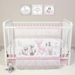 Trend Lab Sammy and Lou Sweet Forest Friends 4 PC Baby Nurse
