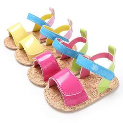 Toddler Summer Baby Shoe First Walkers Soft Soled PU Leather